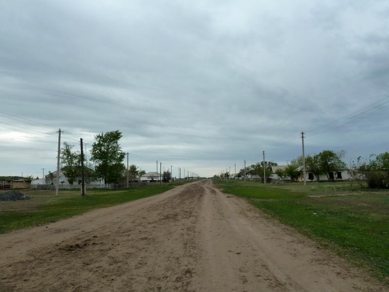 20120520. Границей на северо-запад: одна из двух улиц села Тегистик.