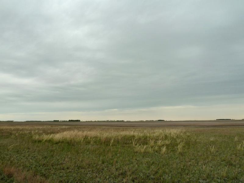 20120520. Границей на северо-запад: низина у села Тигистик.