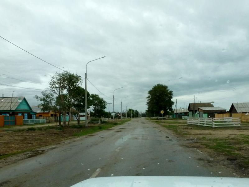 20180625. Проезжаем через село Саранхур (Барагхан).