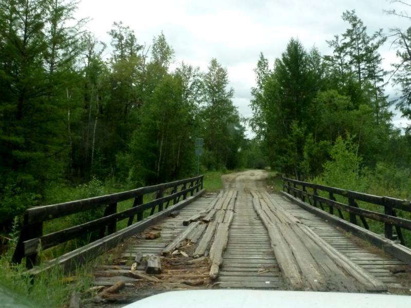 20180625. Типичный мост через мелкую речку на окраине цивилизации.