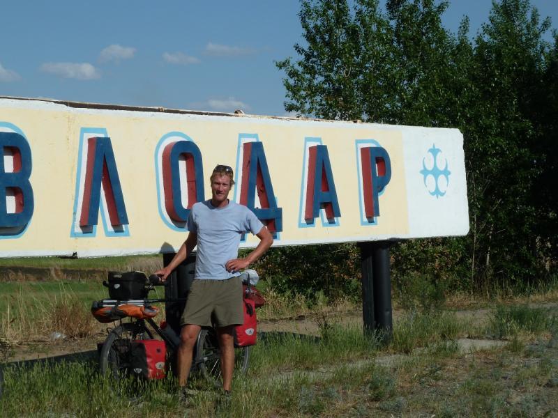 20120613. Stefan Herb. Павлодар. На границе города.