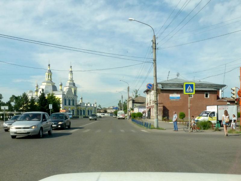20180629. Минусинск. На улице Комсомольская.
