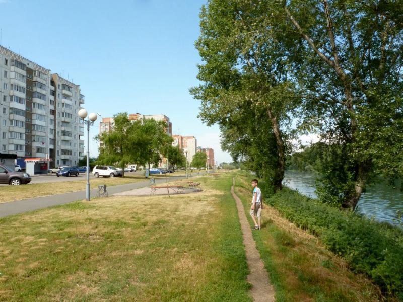20180629. Абакан. У речки Дрена (дренажный канал), рядом с местом моих детских игр.