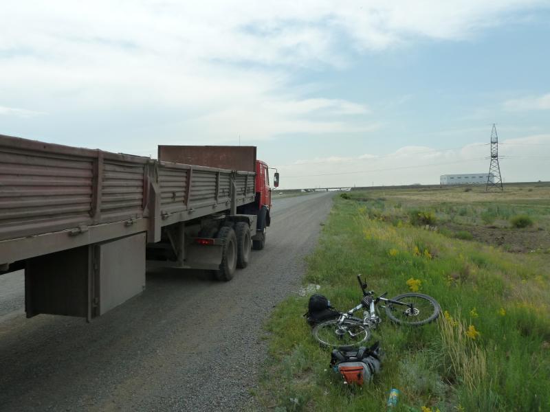 20120628. Павлодар-Астана: выгрузился у Экибастуза.