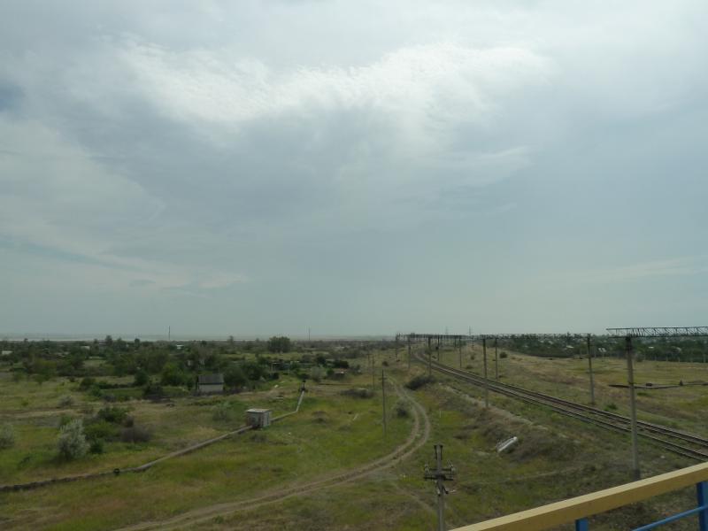 20120628. Павлодар-Астана: дачи Экибастуза у автомобильной дороги Павлодар-Астана.