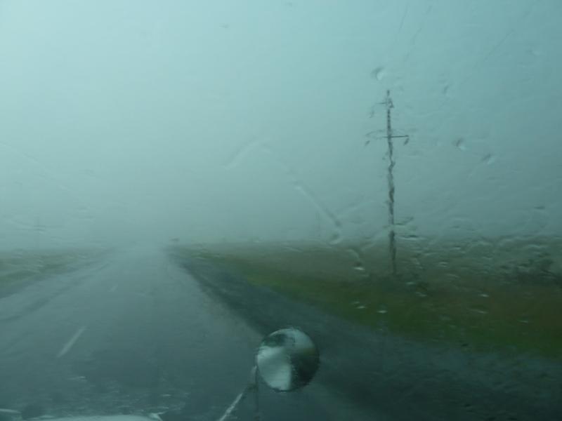 20120628. Павлодар-Астана: дождь перерастает в ливень.