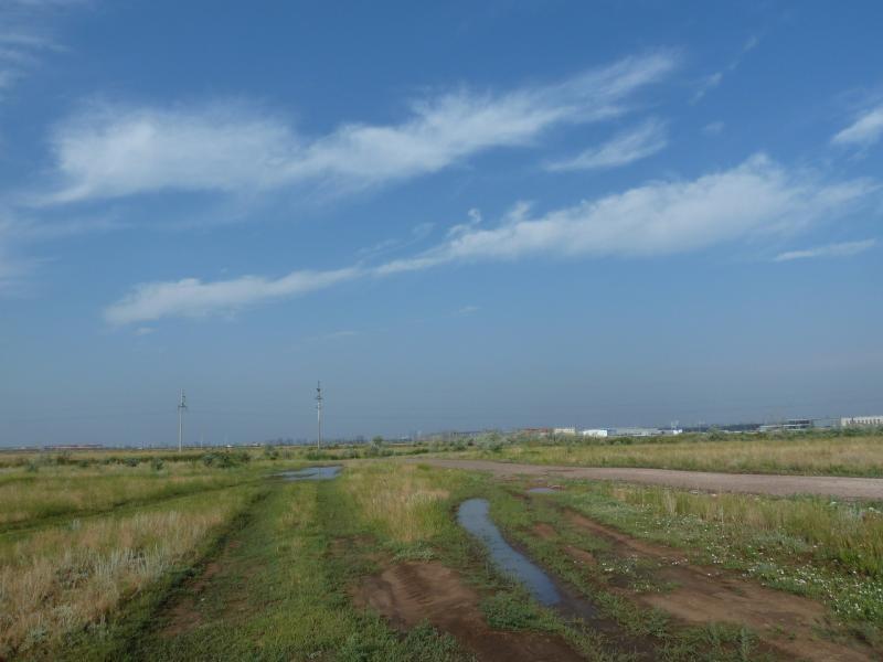 20120629. КТЛ-Астана: кратковременный выход на гравийный грейдер.