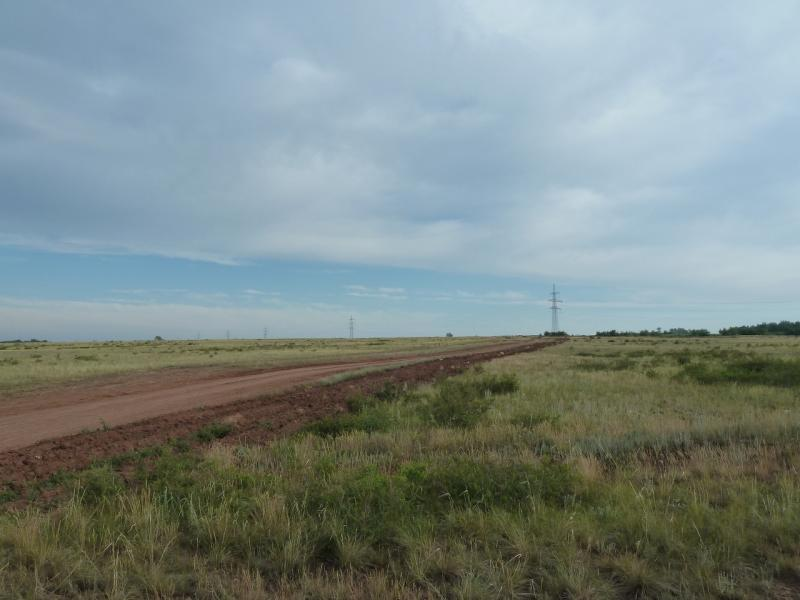20120630. Баймен-2012: последний участок ровной дороги.
