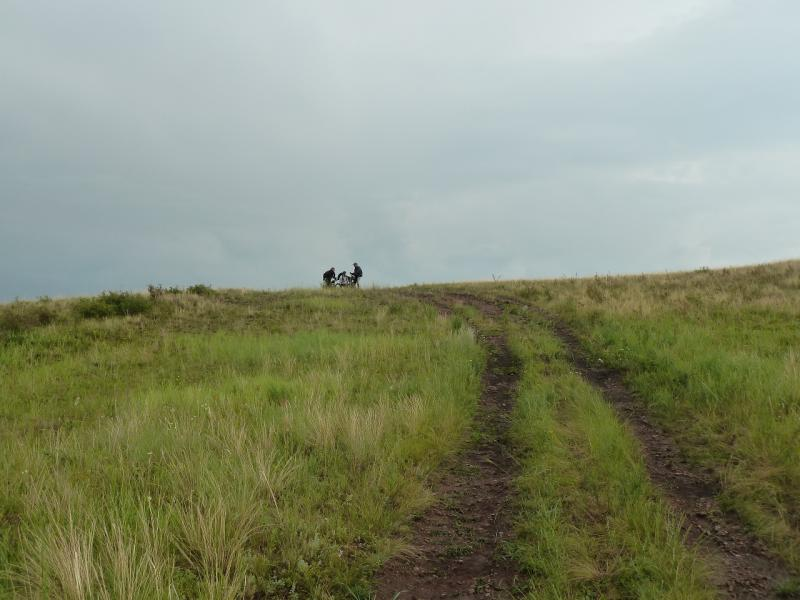 20120630. Баймен-2012: подъём на плоскогорье у Орнека.