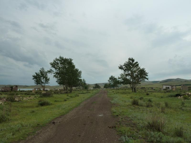 20120630. Баймен-2012: развалины села Токберли.