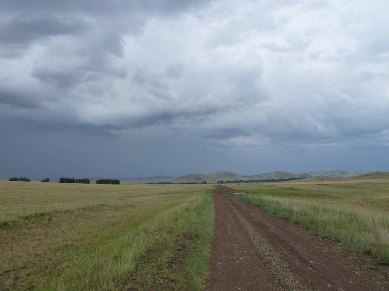 20120630. Баймен-2012: песчаная дорога от Токберли на Орнек.