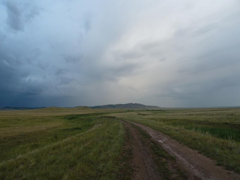 20120630. Баймен-2012: в прошлом году здесь было так приятно катиться посуху.