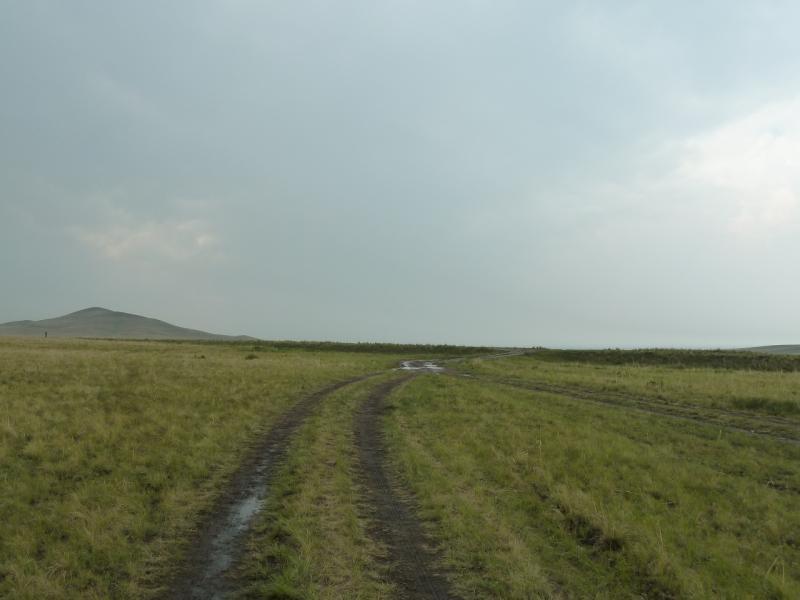 20120701. Баймен-2012: подъём к дороге Алгабас-Баймен.