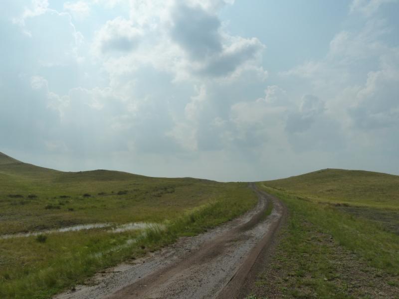 20120701. Баймен-2012: последний перевал на выходе из Байменской котловины.