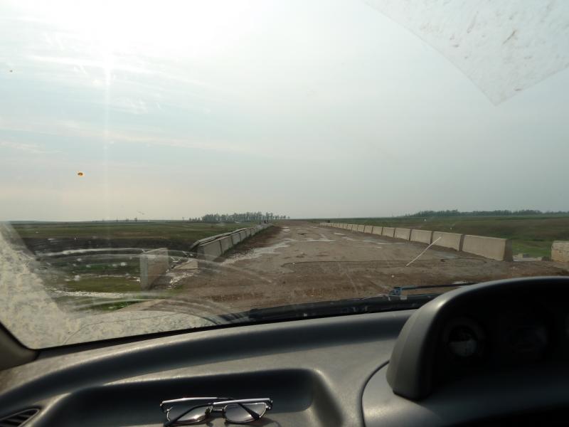 20120701. Баймен-2012: мост через речку где-то между Павловкой и Зарёй.