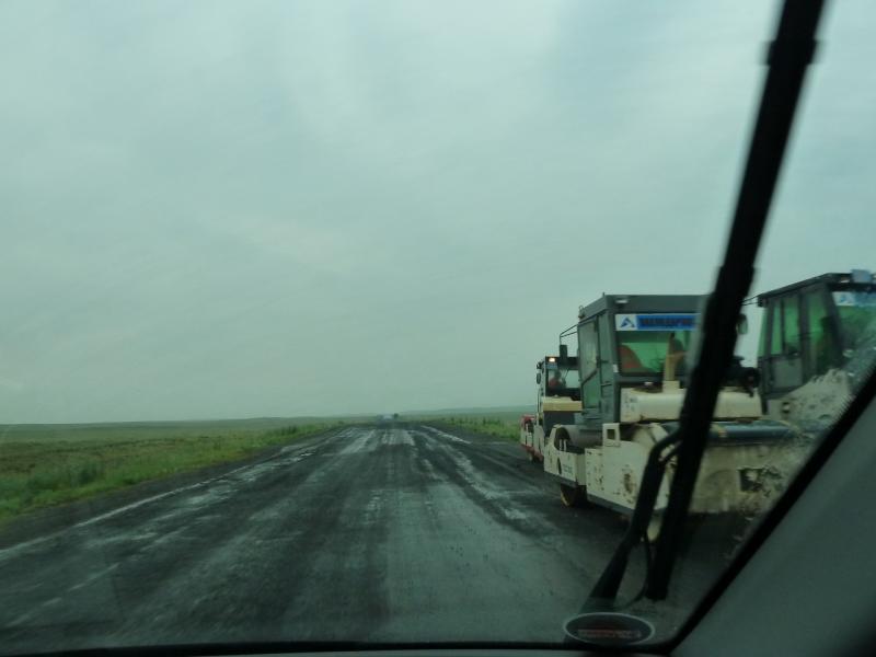 20120703. Астана-Павлодар: дураки и дороги - вкатывают налоги в грязь.