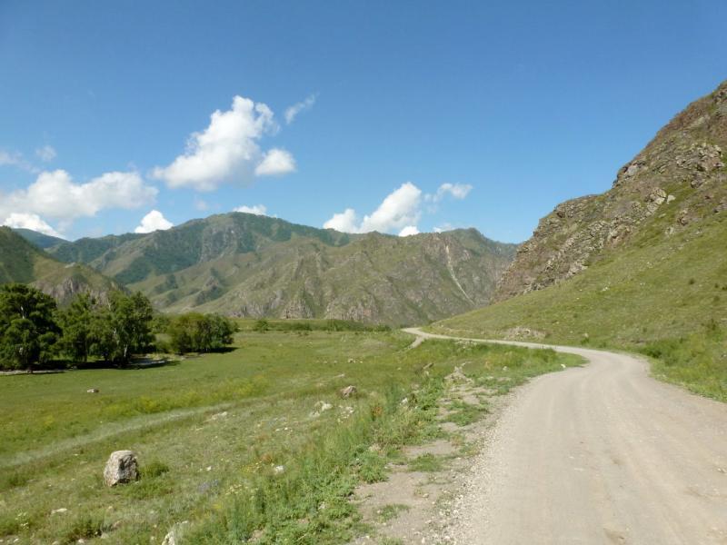 20180806. Грунтовая дорога от речки Эдиган до села Куюс.