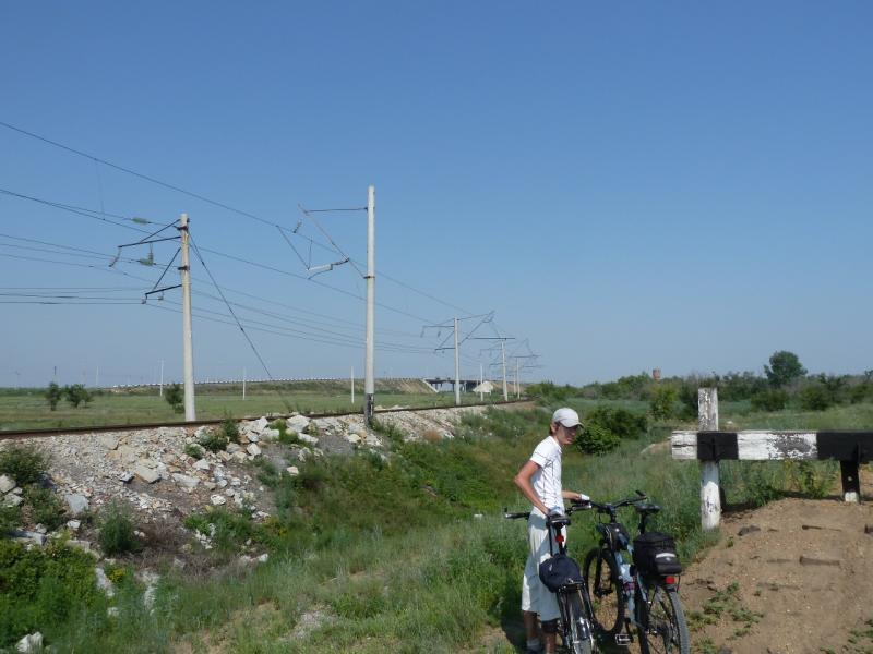 20120715. Павлодар-Аксу: в тупичке железнодорожной ветки Аксусской ГРЭС.