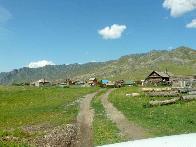 20180806. Село Куюс, в южной части Чемальского ущелья.