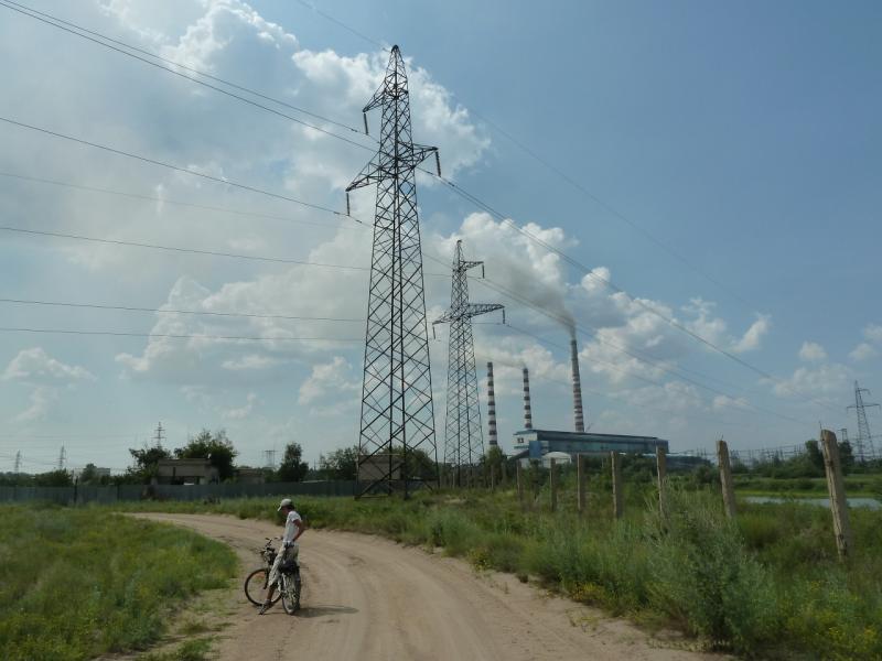 20120715. Аксу-Павлодар: у Аксусской ГРЭС.