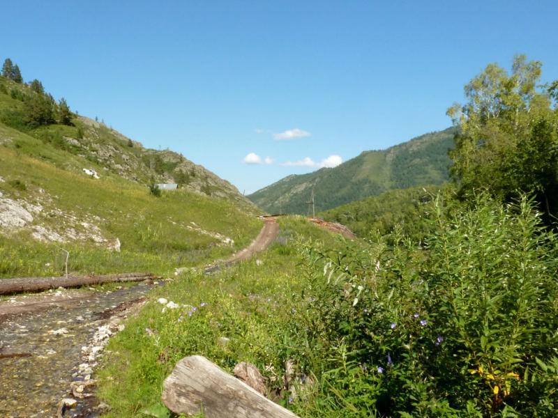 20180806. Типичная дорога в районе села Ороктой.