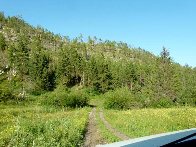 20180806. Типичная дорожка в горах за Ороктоем.