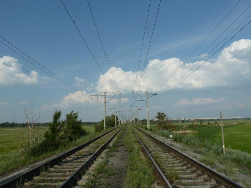 20120715. Аксу-Павлодар: Павлодар уже в пределах прямой видимости.