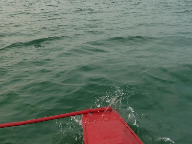 """20120725. """"без названия"""" - просто фотография поплавка катамарана."""