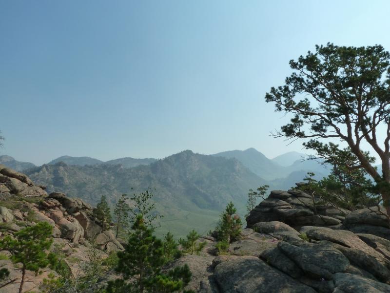 20120725. Вид на восток с одной из высоток у посёлка Жасыбай.
