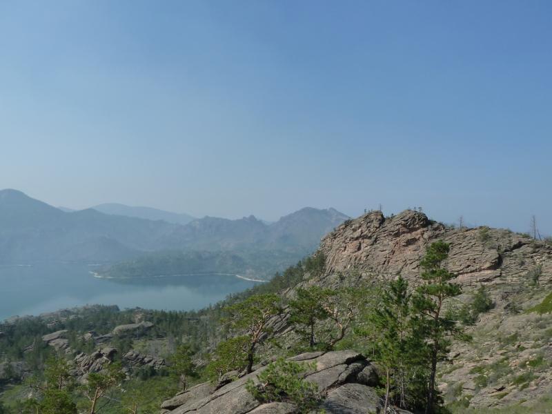 20120725. Вид на запад с одной из высоток у посёлка Жасыбай.