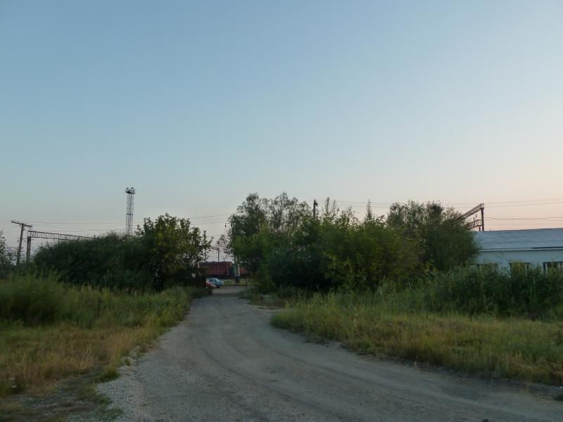 20120804. Дорога в посёлок Ерейментау.