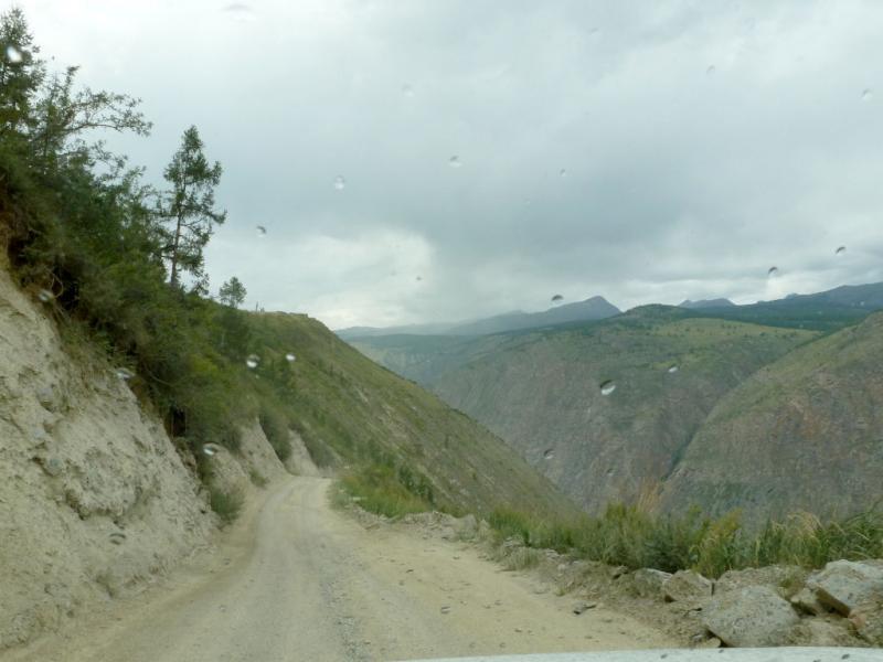20180808. На верхнем витке перевала Кату-Ярык.
