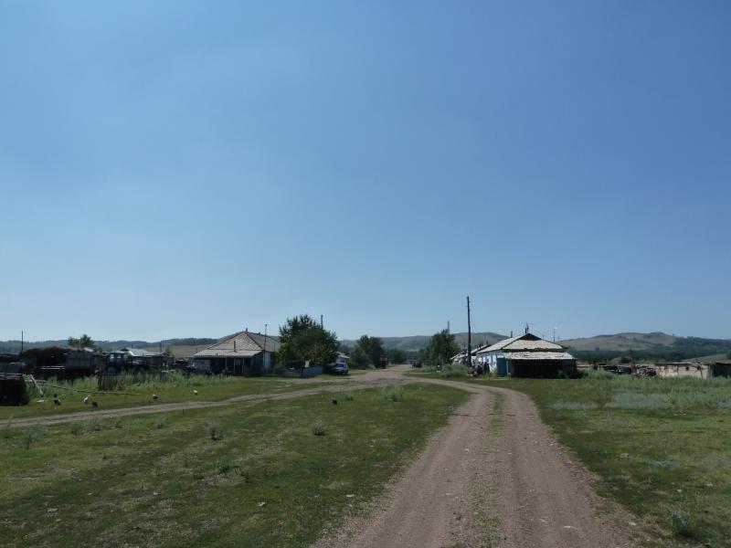 20120804. Посёлок Алгабас, вид с северо-востока.