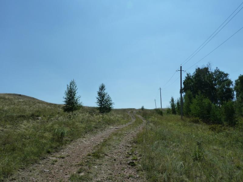 20120804. Типичный подьём дороги Алгабас-Новокаменка.