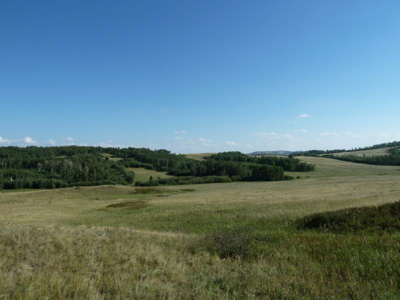 20120805. Одна из долин на подходе к селу Ленинское.