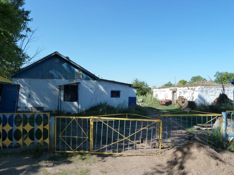 20120806. Двор хозяйства, содержащего магазин.