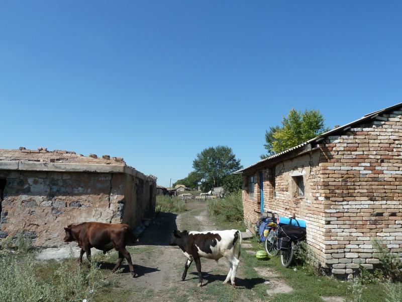 20120806. Магазин села Каратал.