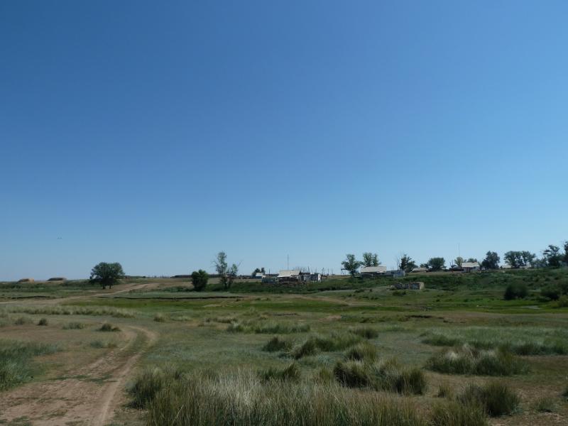 20120806. Вид на село Ахметаул.
