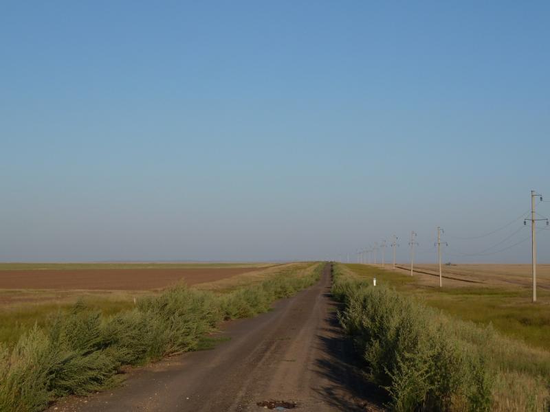 20120806. Трасса Тельмановское-Молодёжный.