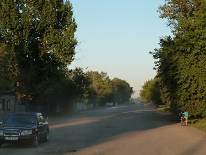 20120806. Проездная улица в посёлке Молодёжный.