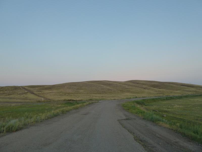 20120806. Дорога Молодёжный-Щидерты.