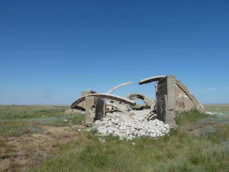 20120807. Развалины села Жаксы-Кандыадыр.