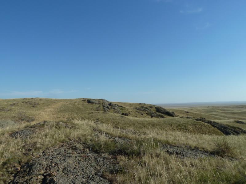 20120807. На склонах горы Жаман-Кандыадыр.