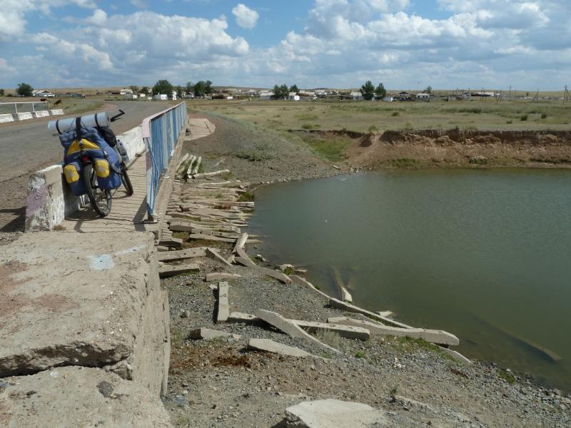 20120808. Мост через речку Откельсаз, под Куромой.