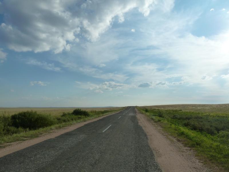 20120808. Дорога в Караганду.