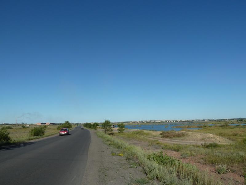 20120809. Дороги промышленной зоны Караганды.