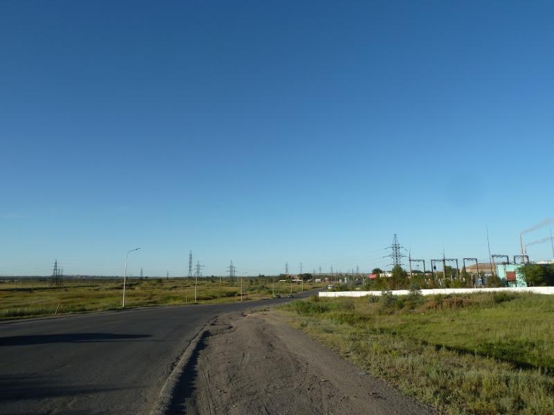 20120809. На границе города Караганда.