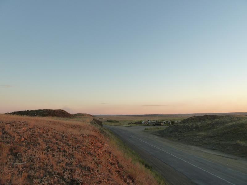 20120809. Небольшой перевал на трассе Караганда-Павлодар.