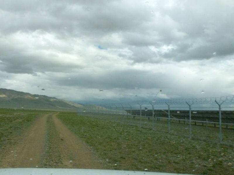 20180813. У солнечной электростанции Кош-Агача.