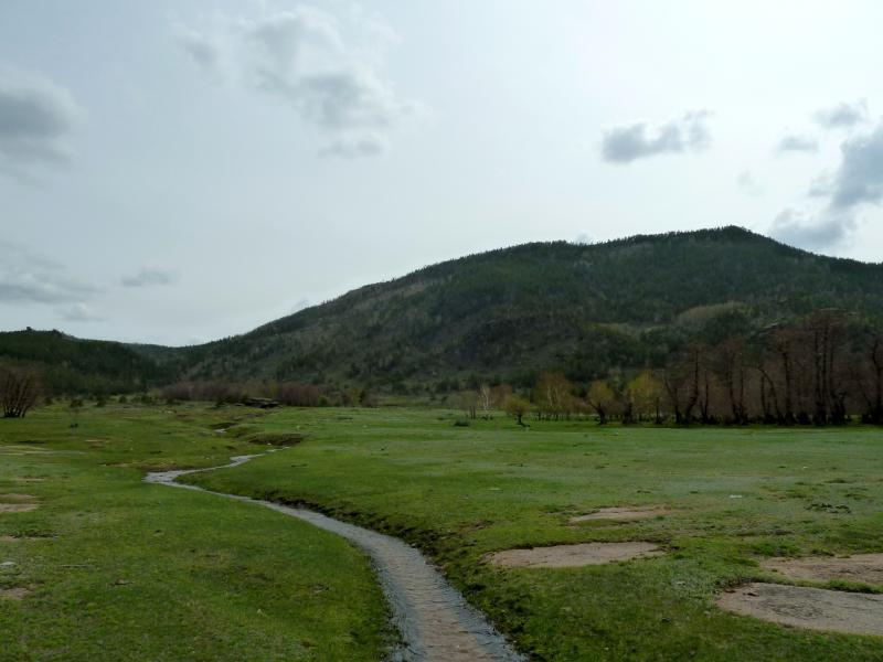 20130424. В долине ущелья у посёлка Торайгыр.